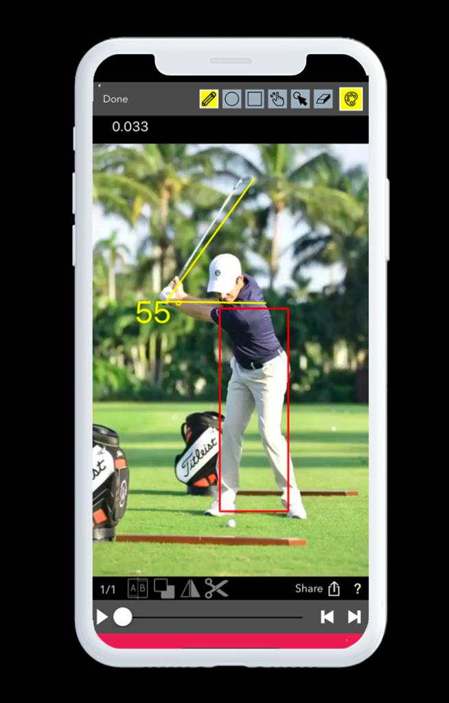 v1 swing analyzer app