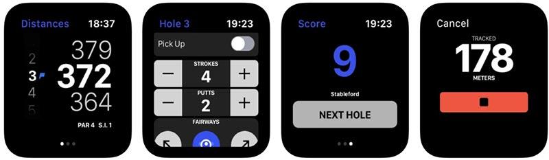 hole19 golf watch app