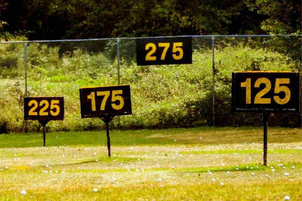 golf club distance
