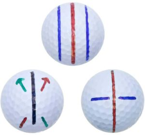 golf ball line markings